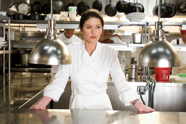 Catherine Zeta Jones, No Reservations, chef, cook, restaurant, food & drinks, movies/tv, celebs