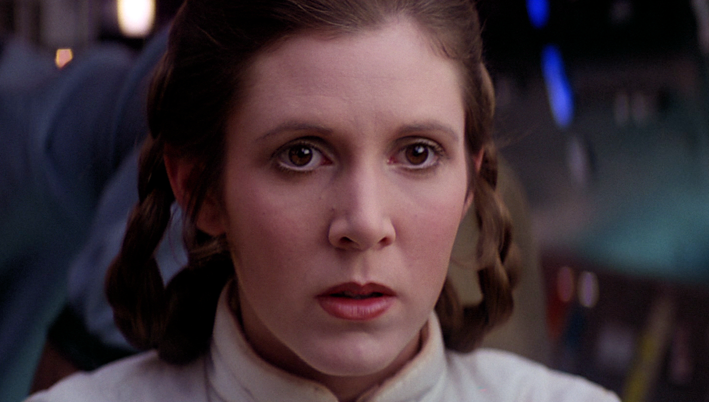 Leia, star, wars, carrie, fisher