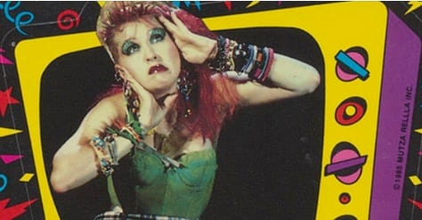 music video, cyndi lauper