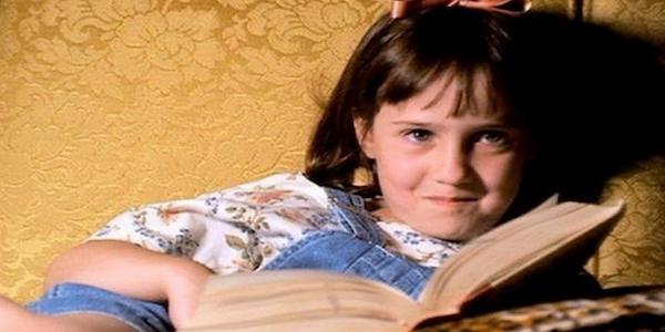 matilda, smart, learn, school, book, kid