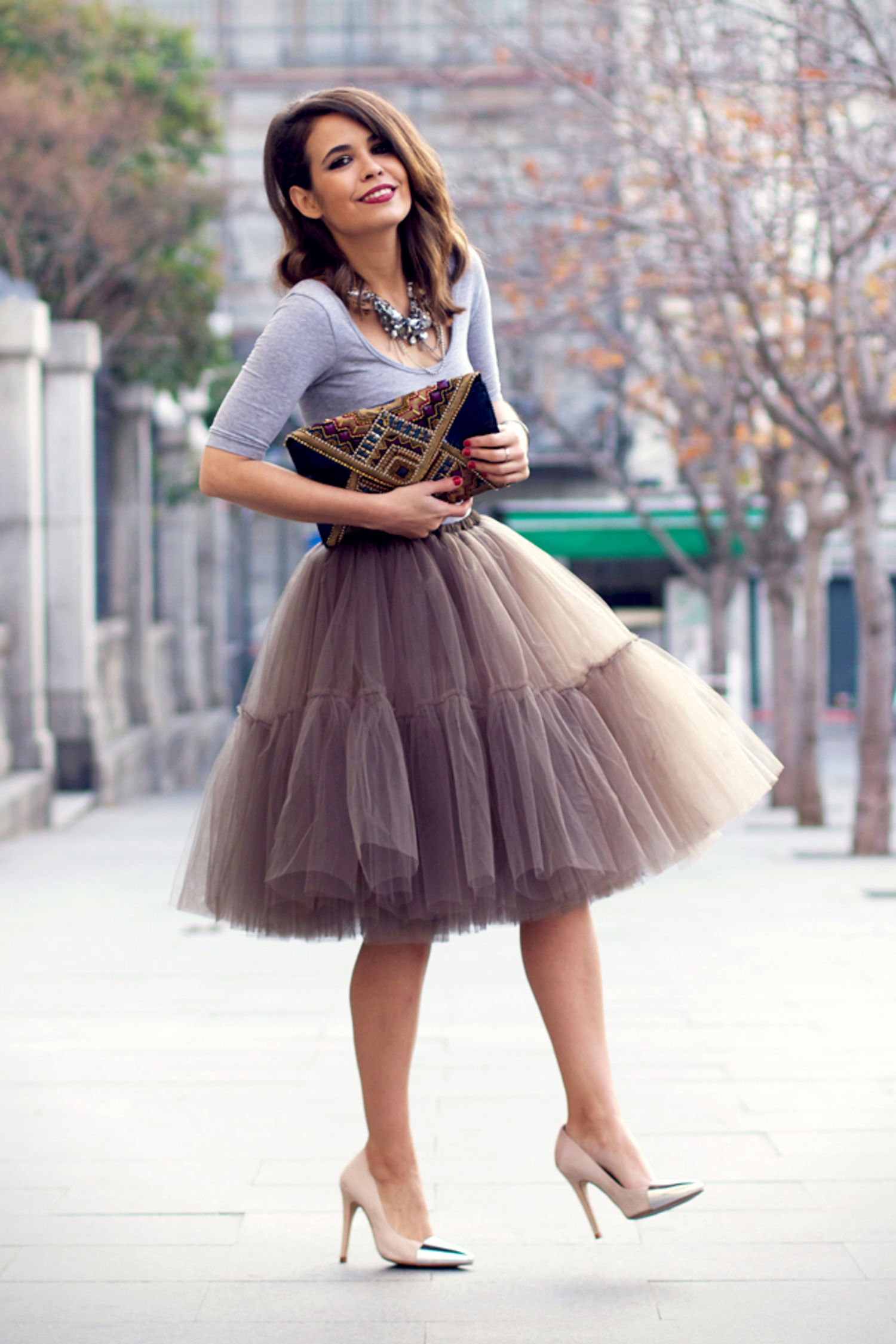 tulle, dress, fashion, New Years, party, outfit