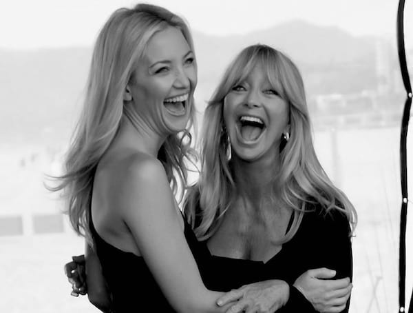 kate hudson, Goldie Hawn, mother, daughter, family, celebs, pop culture