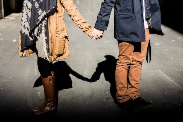 couple, relationship, holding hands