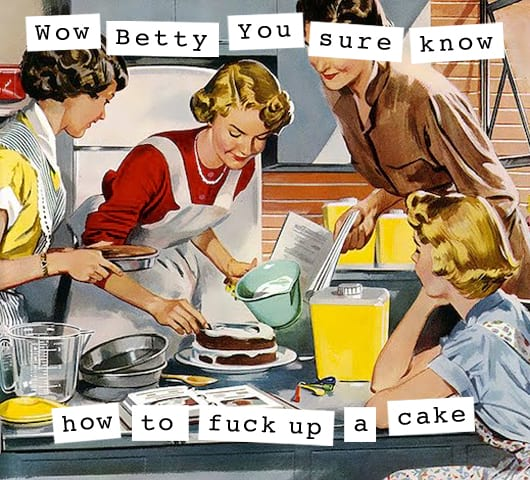 1950's, Housewife, Baking, food & drinks, culture, home