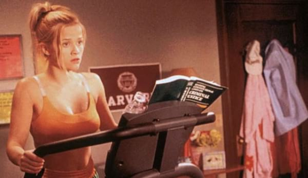 gym, workout, exercise, elle woods, legally blonde