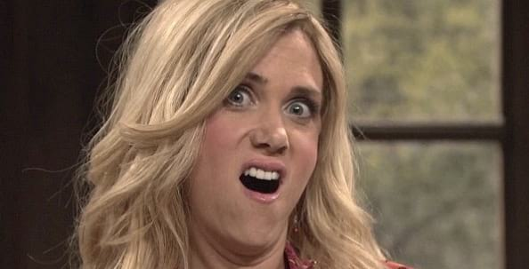 lol, wiig, kristen, snl, funny, face, what, close up, close, blond, girl
