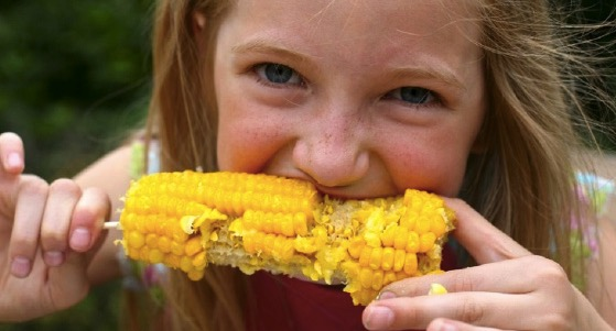eating, Midwest, corn