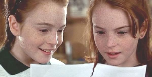 sister, sisters, family, The Parent Trap, Lindsay Lohan, twins