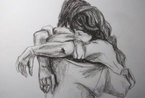 couple, Drawing, tumblr drawing, relationships