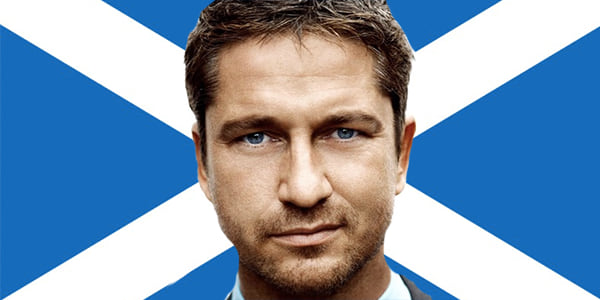 gerard butler, scotland, Scottish, Scottish Man, Scot
