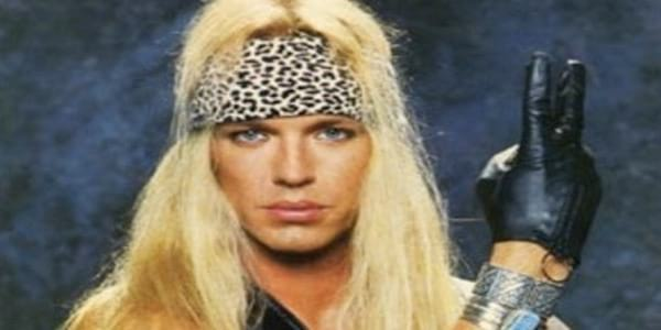 bret michaels, poison, 80s
