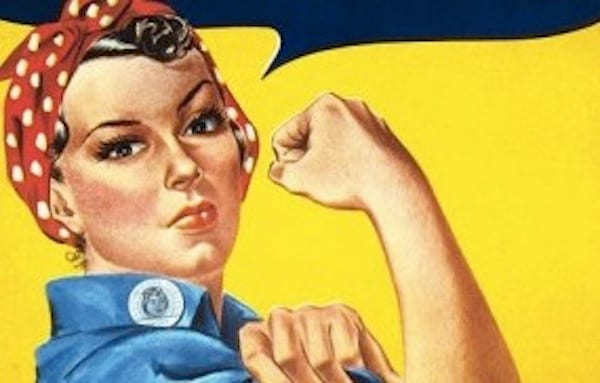 history, rosie, rosie the riveter, women, strong, historical, American