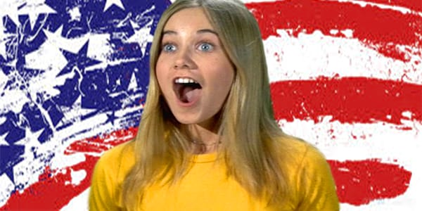 clipping knowledge, Clipping, america, brady bunch, usa, Patriot