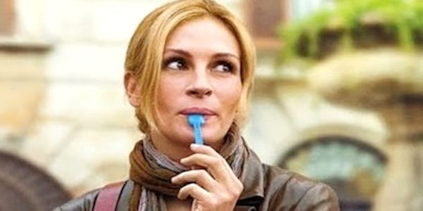 eating, eat, gelato, yum, julia roberts, girl, food, travel, good