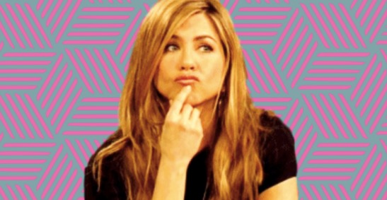 thinking, think, Jennifer Anniston, Clipping, confused, idk, WTF, knowledge, iq