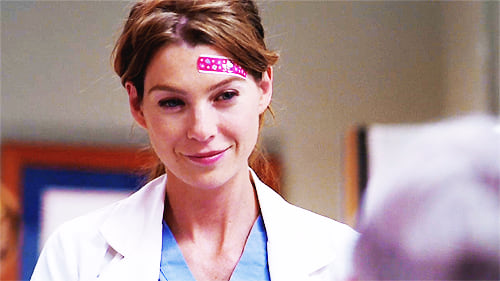 meredith, bandaid, medical