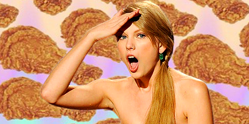 Taylor Swift, fried chicken, Southern, Clipping, Knowledge clipping
