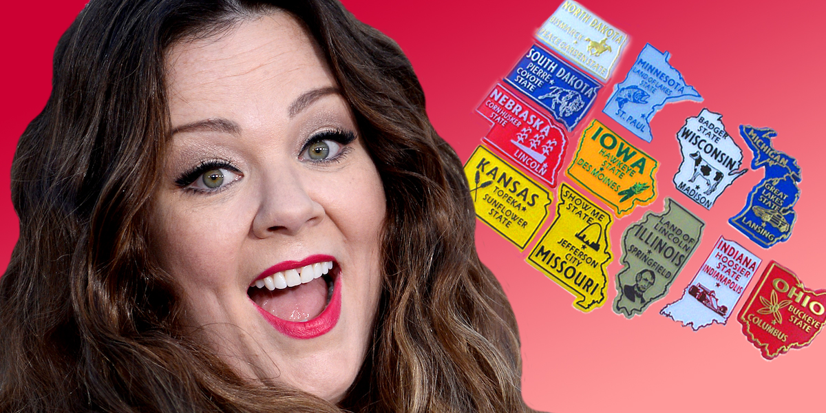 melissa mccarthy, Midwest, Clipping, clipping knowledge