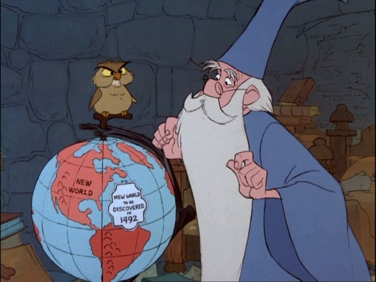 merlin, wizard, The Sword In The Stone, knowledge