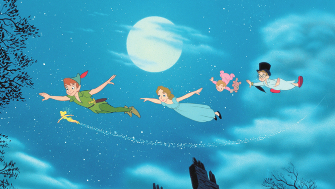 peter pan, flying, magic, dreams