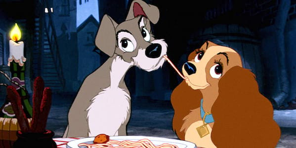 lady and the tramp, food & drinks, Disney, movies