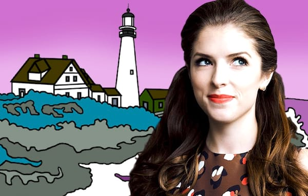 anna kendrick, Clipping, Maine, northeast, celebs