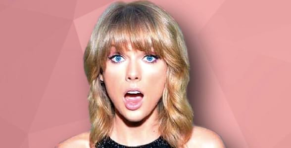 Taylor Swift, Clipping, smart, iq, surprised, blond, girl, schoc, what, quiz, Music