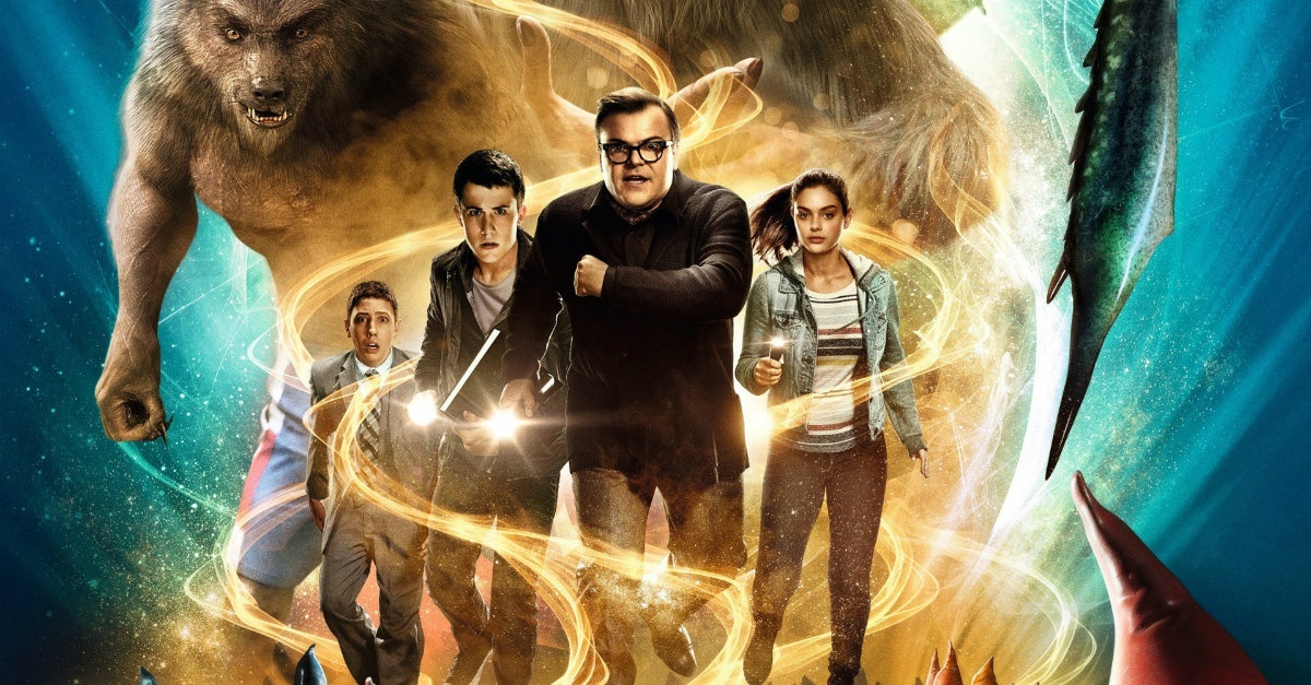 goosebumps, R.L. Stine, kid's movies, Netflix, jack black, movies/tv
