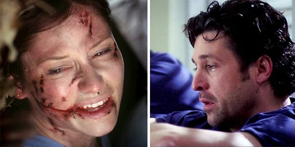 Grey's, lexie grey, derek shepherd, grey's hero, grey's anatomy