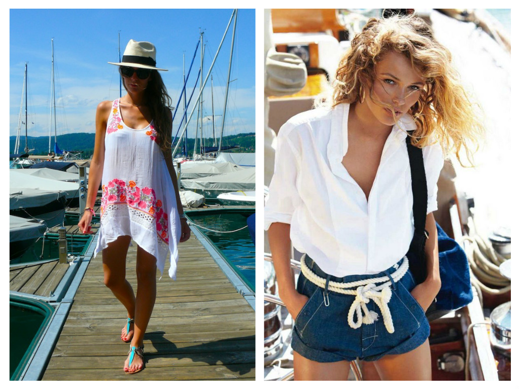 women's boating outfits, what to wear while boating, cute boating outfits, boating skirts, boating shorts, fashion