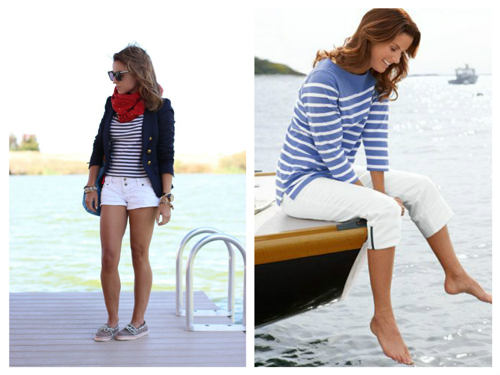 women's boating outfits, what to wear while boating, cute boating outfits, boating capris, fashion