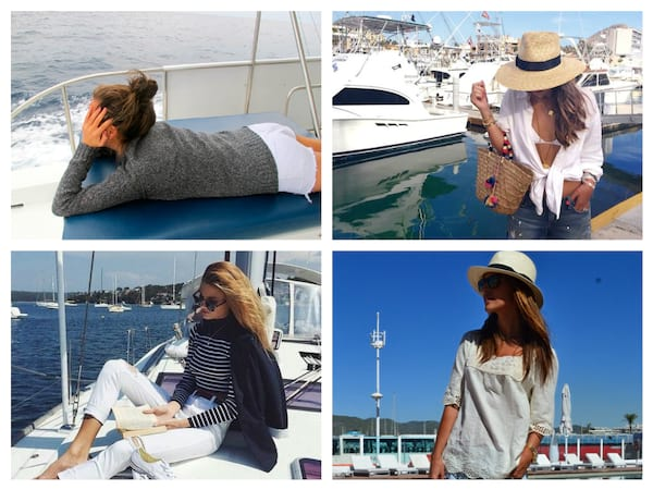 women's boating outfits, what to wear while boating, cute boating outfits, boating shirts, fashion