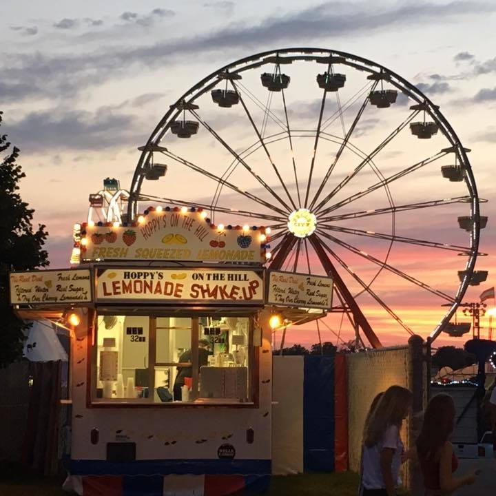 Hoppy's Lemonade Shake Up, Iowa State Fair, Best Foods at the Iowa State Fair, What to eat at the Iowa State Fair, food & drinks