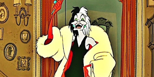 cruella devil, dalmations, one hundred and one