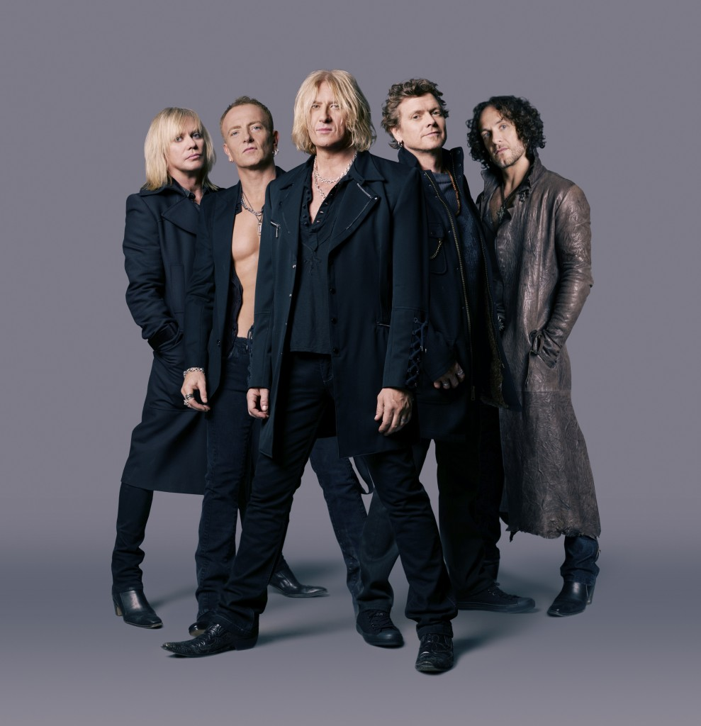 Def Leppard, What does Def Leppard look like now, what do the members of Def leppard look like, Def leppard 2017