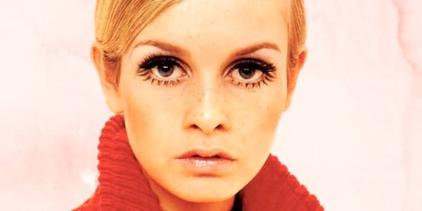 Clipping, model, Twiggy, blond, eyes