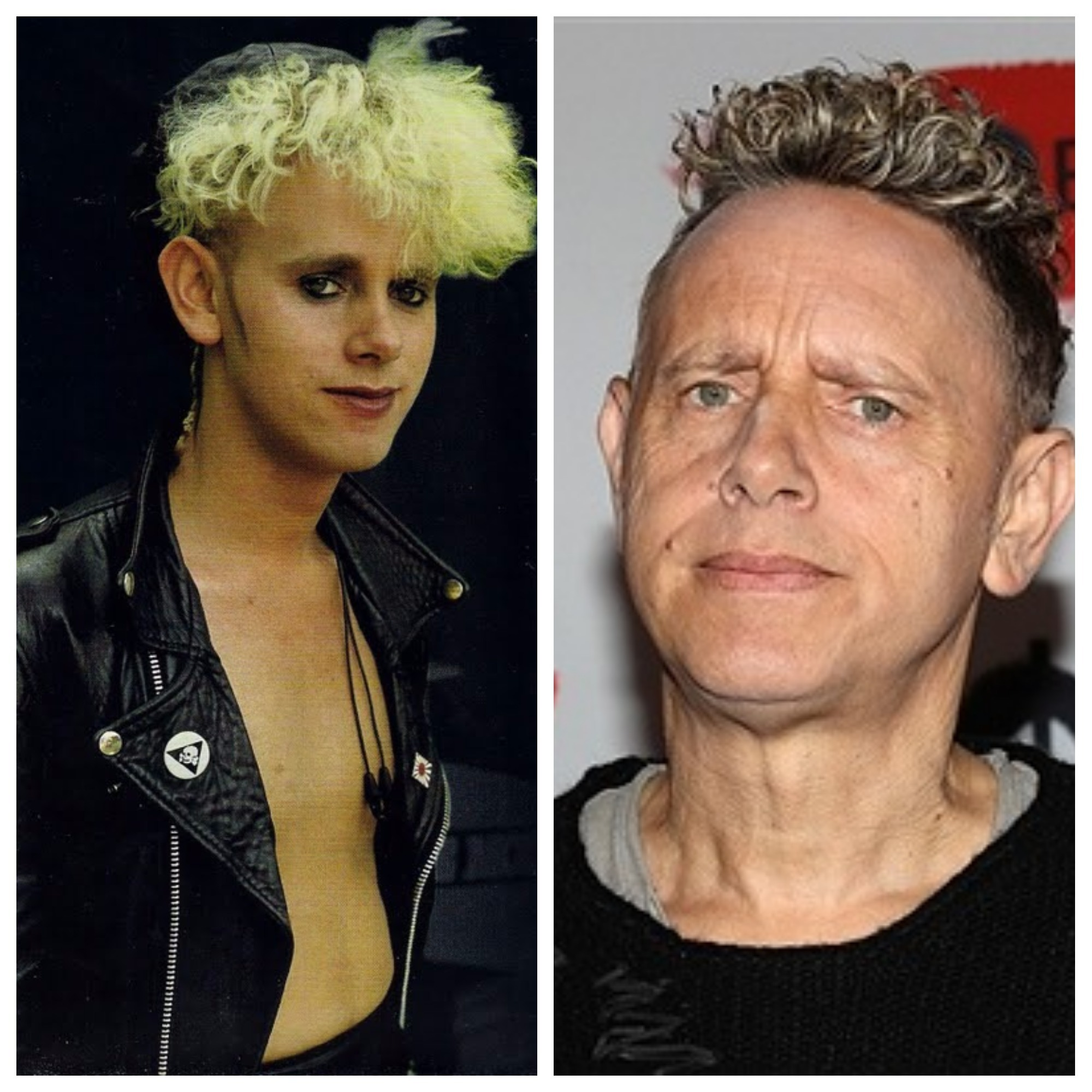 Martin Gore 2017, What does Depeche Mode look like now, Depeche Mode 2017, Before and After depeche mode, celebs, Music