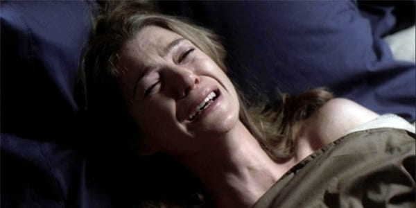 grey's anatomy, meredith grey, crying