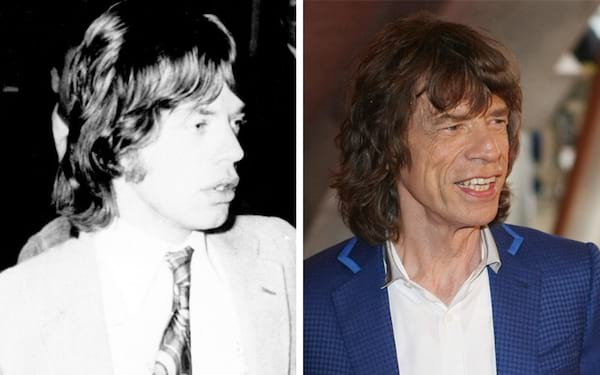 mick jagger, Mick Jagger Then and Now, What the rolling stones look like now, The Rolling Stones, celebs, Music