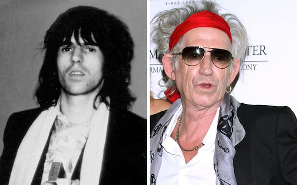 Keith Richards, Keith Richards Then and Now, What does Keith Richards Look like now, Keith Richards 2017, celebs, Music
