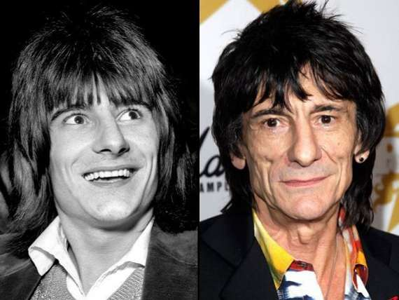 Ron wood then and now, Rolling Stones, Ron Wood, What do the rolling stones look like now, celebs, Music