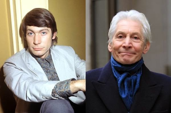 Charlie Watts, Charlie Watts then and now, Charlie Watts 2017, What the rolling stones look like now, celebs, Music