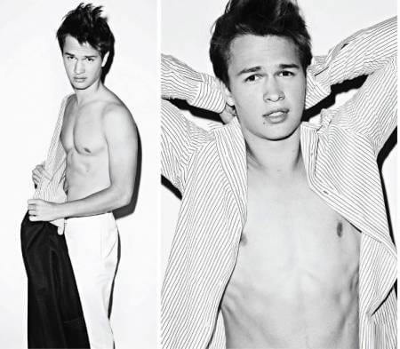 Ansel elgort photos that will basically make you pregnant