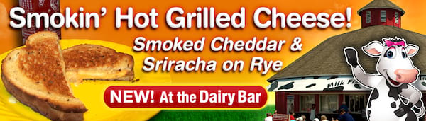 Indiana State Fair, grilled cheese, dairy bar, american dairy association, food & drinks