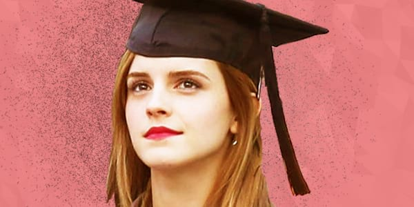 ps, ps emma watson, emma watson, graduation, smart, intelligent, knowledge