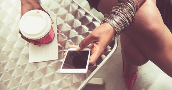 woman, phone, coffee, culture
