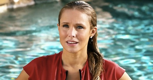 quiz, what, WTF, celeb, good, florida, pool, South, blond, ctr, shock, confused, smart, knowledge, iq, Kristen Bell