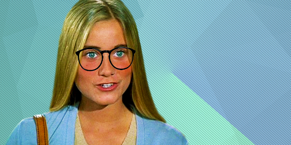ps, ps marcia Brady, nerd, glasses, smart, trivia, school