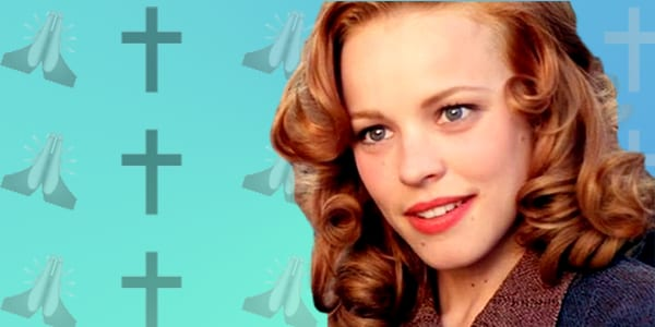 ps, ps rachel mcadams, religious, religion, the notebook, interested, smart, praying, God