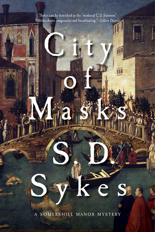 S.D. Sykes, City of Mask, novel, mystery, books